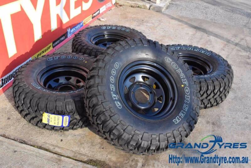 285 75r16 Comforser Cf3000 And Dynamic Rims 285 75 16 Wheels