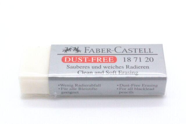 FABER-CASTELL Kunststoff-Radierer DUST-FREE, grau