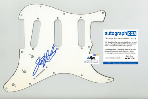 JERRY LEE LEWIS AUTOGRAPH SIGNED PICKGUARD SCRATCHPLATE GREAT BALLS OF FIRE ACOA