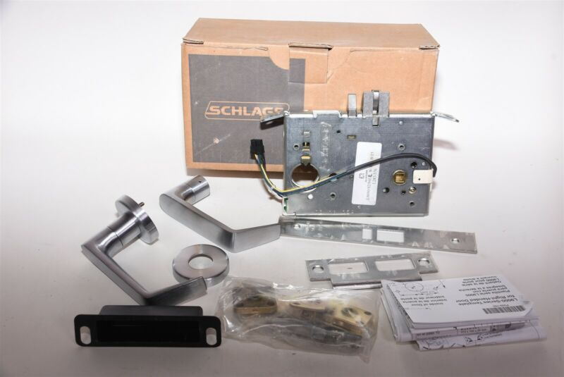 Schlage L9080LEL 06A 626 RX Storeroom Mortise Electric Fail Secure Door Lock