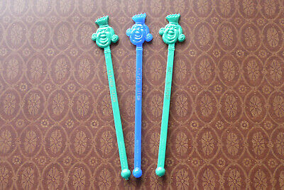 Cocktail Stir Sticks (3 Vintage HOTEL RIDPATH Swizzle Sticks ~ Cocktail Stir Sticks ~ Spokane)