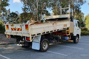 Mitsubishi Fuso Fighter 1227 Tipper Crane Truck Noosaville Noosa Area Preview