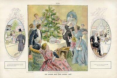 Christmas Around the Tree w Large Family vs Christmas as a Bachelor PUCK 1897