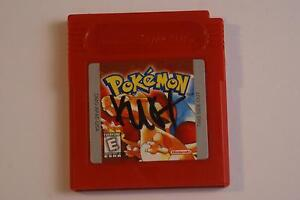 Pokemon Red for Gameboy/Gameboy Color - MUST HAVE!