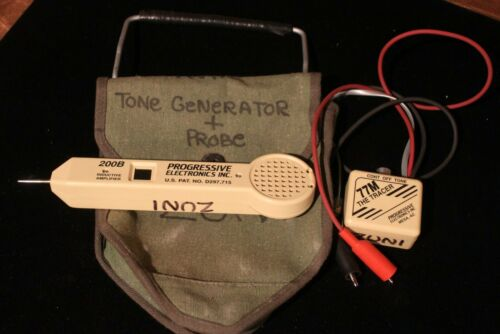 PROGRESSIVE ELECTRONICS TONE GENERATOR & PROBE KIT