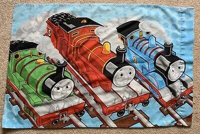 THOMAS the TANK ENGINE Standard PILLOWCASE Trains Percy James