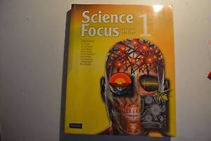 Science Focus 1 Textbook - SECOND HAND Canada Bay Canada Bay Area Preview