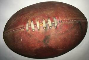 Sherrin football leather Vintage Match Size 4
