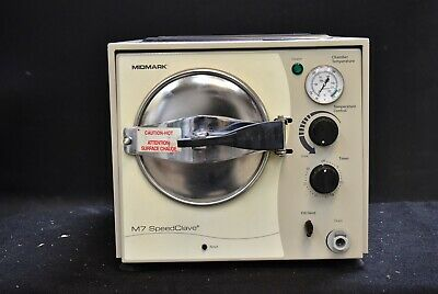 Midmark M7 Speedclave Dental Medical Steam Autoclave Sterilizer