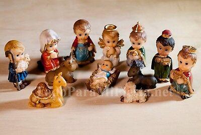 Christmas Nativity Set Holiday Baby Jesus Nativity Set Nacimiento Nino Dios Navi (Nativity Christmas)