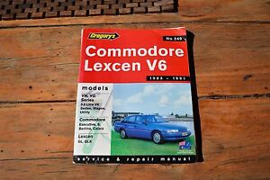 Commodore Lexcen V6 Workshop Manual Kensington South Perth Area Preview