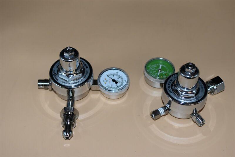 N2 + O2 Regulators for Dental Nitrous Unit Flowmeter Sedation New, Unused