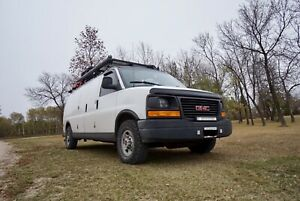 2008 GMC Savana  camper van conversion off-grid rv travel