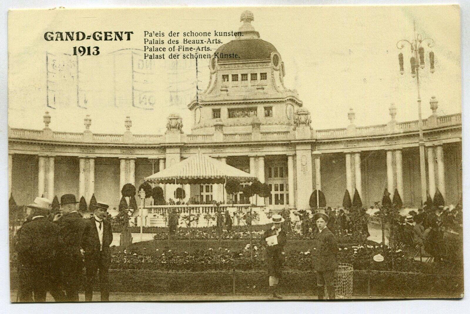 CPA - Carte Postale - Belgique - Exposition Universelle de Gand 1913 - Palais