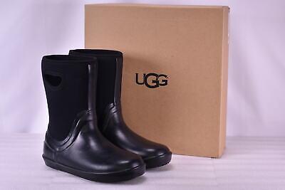 Youth Boy's Ugg  1018510K/BLK Kex Rain Boots Black    - Ugg Boys