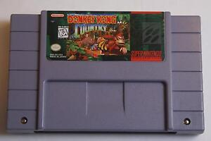 Donkey Kong Country - Super Nintendo (SNES) Game -Groundbreaking