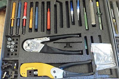 Buchanan Crimper Tool Kit 5180-00-937-6846 167-53 Dmc350