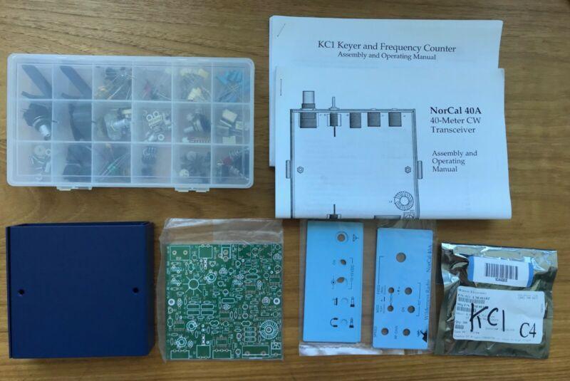 Wilderness Unbuilt Norcal 40A QRP Transceiver KC1 Rutledge Electronics of Radio