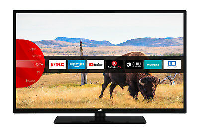 JVC LT-32V55LFA LED Fernseher 32 Zoll Full HD Triple Tuner Smart TV WLAN BT CI+