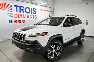 2017 Jeep Cherokee TRAILHAWK*OFF ROAD*CAMÉRA RECUL+CUIR