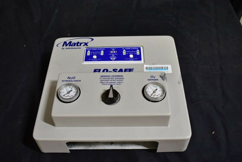 MatrxFlo-Safe Dental Nitrous Unit for Flowmeter N2O Conscious Sedation