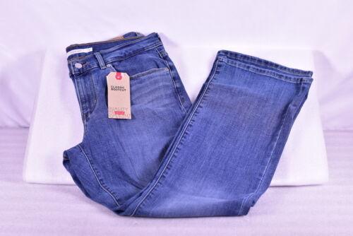 Women's Levi's Mid Rise Classic Bootcut Denim Jeans - 0001 M