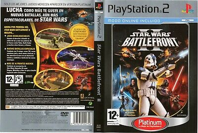 Star Wars: Battlefront II (Sony PlayStation 2, 2005) - Spanish Version