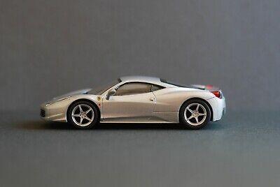KYOSHO Ferrari 458 ITALIA  1/64  Diecast  Silver  2011  Assembled
