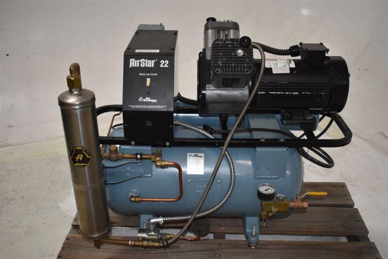 Air Techniques AirStar 22C Dental Air Compressor REFURBISHED w/ WARRANTY