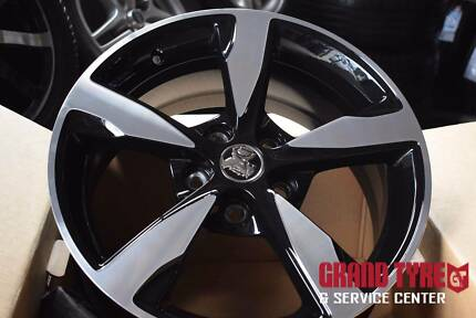 "4x 18"" Geniune Holdem commodore VF Storm 2 alloy wheels"