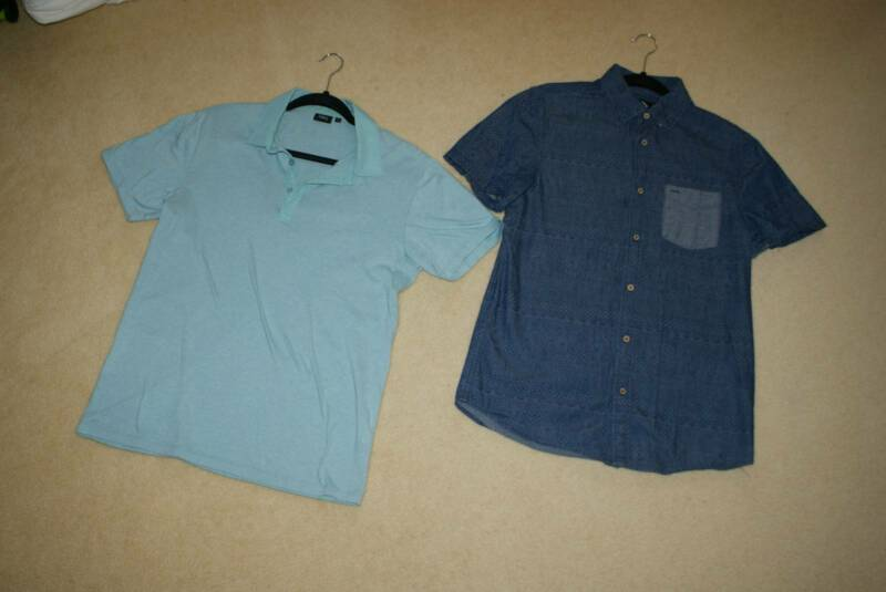 2x Short Sleeve Casual Shirts Small Blaq Myer Cotton On Tops