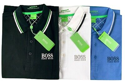 Hugo Boss Men's Short Sleeve Paddy Pro Moisture Manager Regular Fit Polo Shirt Hugo Boss Moisturizing Moisturizer