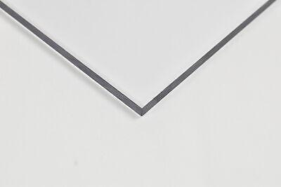 Clear Polycarbonate Plastic Sheet .220 14 X 12 X 24
