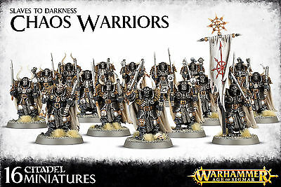 Slaves to Darkness Chaos Warriors Regiment Warhammer Fantasy Age of Sigmar NEW