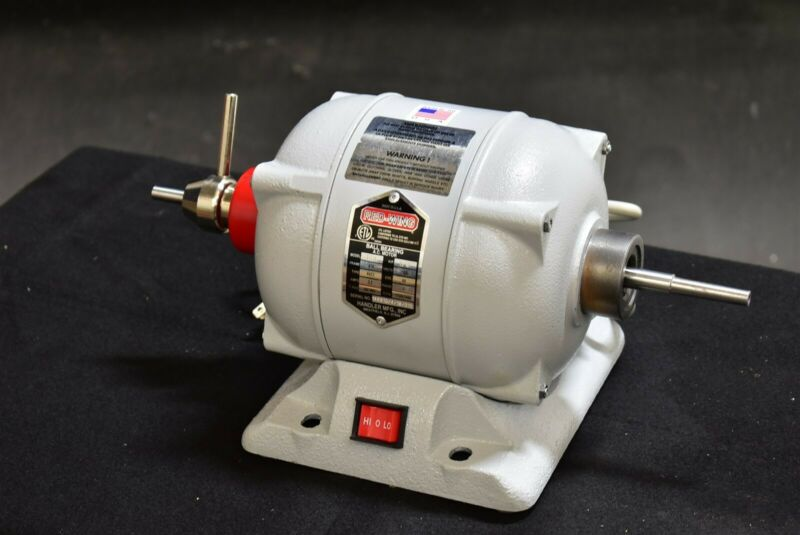 Handler 16B Dental Lab Polishing Polisher Lathe Buffer Machine NEW UNUSED