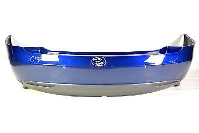 TESLA MODEL S REAR BUMPER 2012-2016 in BLUE METALLIC (SIX SENSOR SPEC) GENUINE