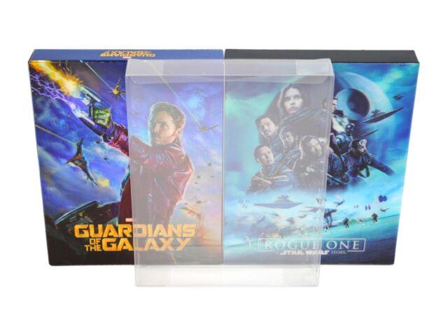 SCF4 Blu-ray Steelbook Fullslip Protectors (New Size) (Pack of 10)
