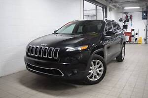 2016 Jeep Cherokee Limited-4X4-Cuir-Mags