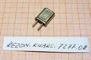 Quartz ( Crystal oscillator) 7277,08kHz ( 7,27708MHz ) [72] - Wroclaw, Polska - Quartz ( Crystal oscillator) 7277,08kHz ( 7,27708MHz ) [72] - Wroclaw, Polska