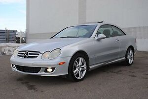 2006 Mercedes CLK350 ///AMG Package, 123KMs, Sunroof, $12,700
