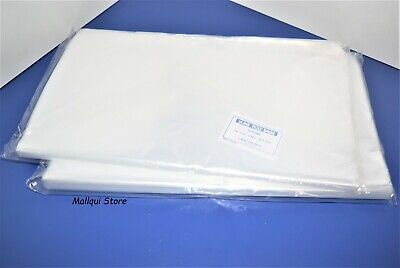 200 CLEAR 14 x 16 LAY FLAT OPEN TOP POLY BAGS PLASTIC PACKING ULINE BEST 1 MIL