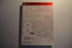 New Century Maths 8 - SECOND HAND excellent condition Canada Bay Canada Bay Area Preview