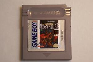 Castlevania Adventure - Gameboy/Gameboy Color Game - Great Game!