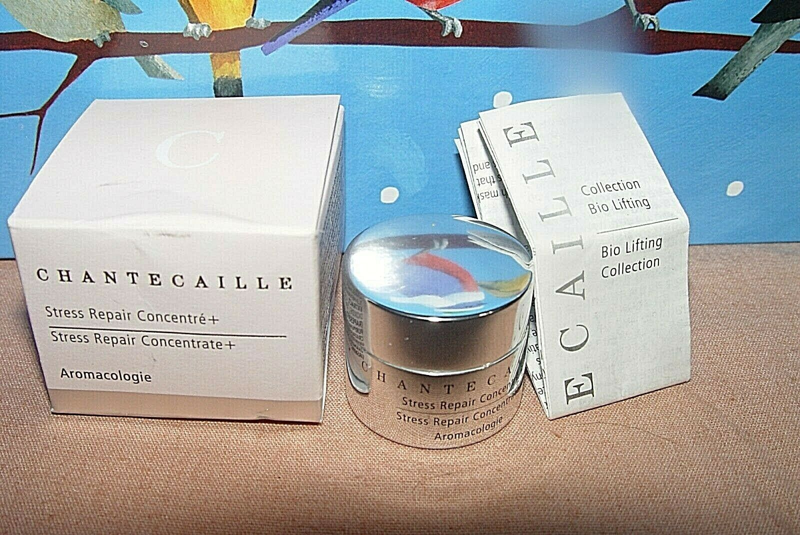 CHANTECAILLE Stress Repair Concentrate 3ml Eyes Lips Sealed Travel Trial NIB - $16.49