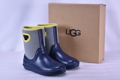 Youth Boy's Ugg  1018510K/NAVY Kex Rain Boots Navy   4 - Ugg Boys