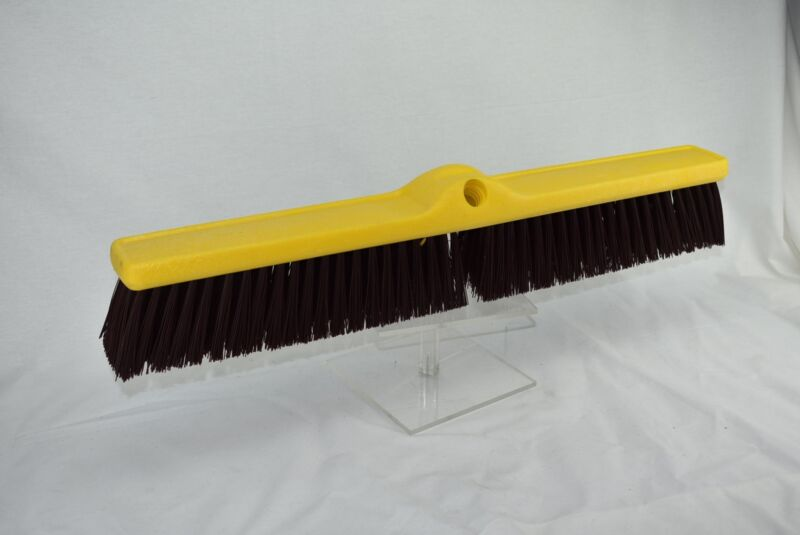 4 QTY RUBBERMAID 9B17 Plastic Foam Block Heavy-Duty Floor Sweep Broom Head Only