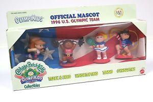 Mattel Cabbage Patch KIds Olympikids Olympic Mascot Set 4 3