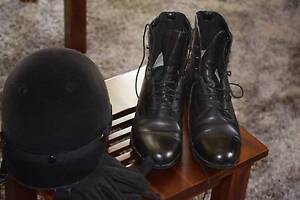 Woman's Ariat Horse-Riding Black Boots Heidelberg Banyule Area Preview