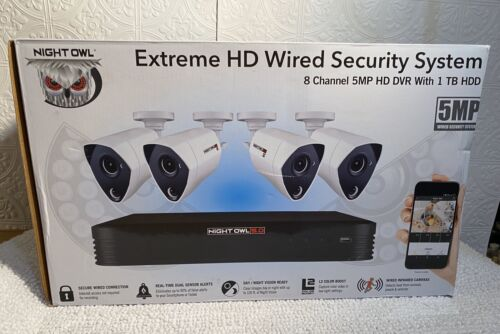 Night Owl Extreme HD Wired Security Camera System (NEW)