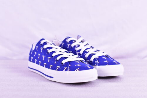 Unisex Row One MLB Texas Rangers All Over Lace Up Sneakers